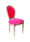 Cadeira cor-de-rosa Foto de Stock Royalty Free