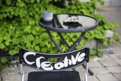Cadeira creativa Foto de Stock Royalty Free