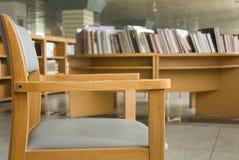 Cadeira da biblioteca Imagens de Stock Royalty Free