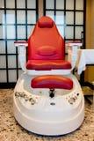 Cadeira da massagem Foto de Stock