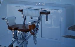 Cadeira da pesca Foto de Stock Royalty Free