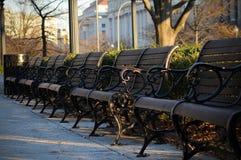 Cadeira da rua Fotografia de Stock Royalty Free