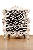 Cadeira da zebra imagem de stock