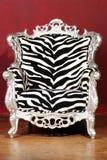 Cadeira da zebra fotos de stock royalty free