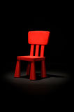 Cadeira das crianças Foto de Stock