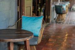 Cadeira de aço Imagens de Stock Royalty Free