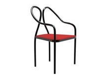 Cadeira de aço da câmara de ar Imagem de Stock