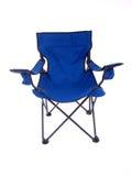 Cadeira de acampamento Foto de Stock