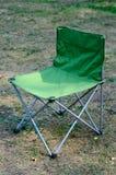Cadeira de acampamento Imagem de Stock Royalty Free