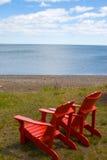 Cadeira de Adirondack Imagens de Stock Royalty Free