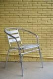 Cadeira de alumínio Imagens de Stock Royalty Free