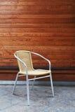 Cadeira de alumínio imagem de stock