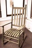 Cadeira de balanço fotografia de stock royalty free