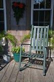 A cadeira de balanço Foto de Stock Royalty Free