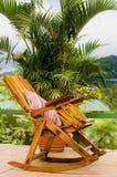 Cadeira de balanço Fotos de Stock Royalty Free