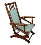 Cadeira de balanço antiga Imagem de Stock