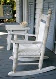 Cadeira de balanço do vintage Fotografia de Stock Royalty Free