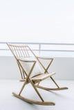 Cadeira de balanço vazia Fotos de Stock Royalty Free