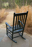 Cadeira de balanço verde Foto de Stock Royalty Free