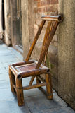 Cadeira de bambu foto de stock