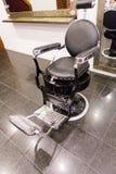 Cadeira de barbeiro foto de stock