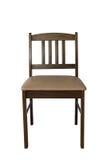 Cadeira de Brown Imagens de Stock Royalty Free