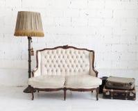 Cadeira de couro Fotos de Stock Royalty Free