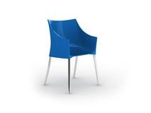 Cadeira de couro Fotografia de Stock