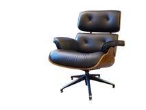 Cadeira de couro do braço Foto de Stock