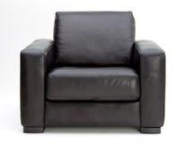 Cadeira de couro do braço Foto de Stock Royalty Free