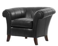 Cadeira de couro do braço Imagem de Stock Royalty Free