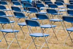 Cadeira de dobradura fotografia de stock