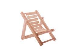 Cadeira de dobradura Imagem de Stock Royalty Free