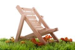 Cadeira de dobradura Imagem de Stock