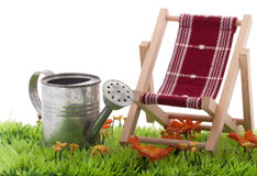 Cadeira de dobradura Imagens de Stock