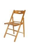 Cadeira de dobradura fotografia de stock royalty free