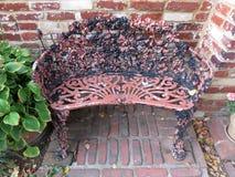 Cadeira de Georgetown do metal Fotografia de Stock Royalty Free