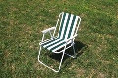 Cadeira de jardim Foto de Stock
