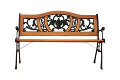 Cadeira de jardim isolada Imagem de Stock Royalty Free