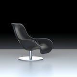 Cadeira de Leahter Imagens de Stock