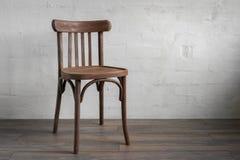 Cadeira de madeira Fotografia de Stock