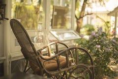 Cadeira de madeira Fotos de Stock