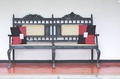 Cadeira de madeira antiga Fotos de Stock