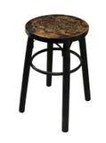 Cadeira de madeira chinesa isolada Imagem de Stock