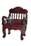 Cadeira de madeira envernizada Fotos de Stock Royalty Free