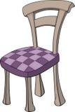 Cadeira de madeira nas seções Imagem de Stock Royalty Free