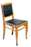 Cadeira de madeira velha Fotos de Stock