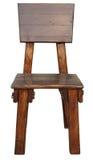 Cadeira de madeira velha Imagem de Stock