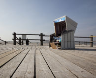Cadeira de praia Foto de Stock