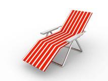 Cadeira de praia ilustração stock